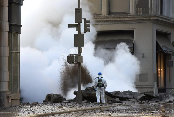 _AFP_New York gas pipe explosion