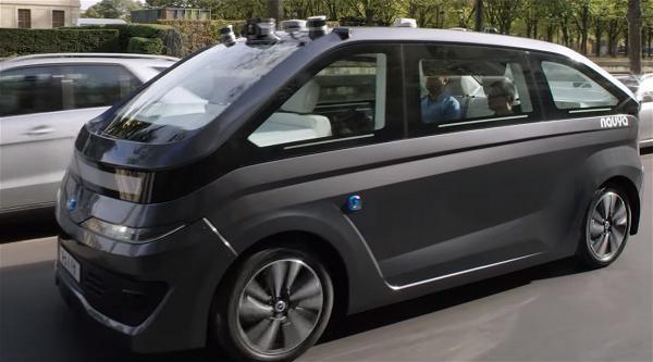XE TU LAI Autonom Cab_robot car