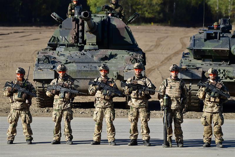 _AFP_soldiers Germany drill exercise
