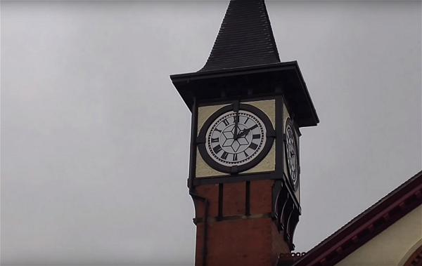 TIME CHANGE clock tower
