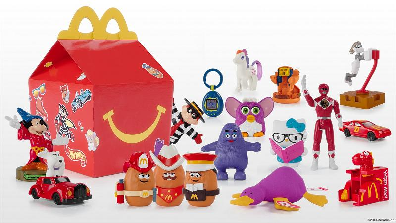McDonald's suprise happy meal