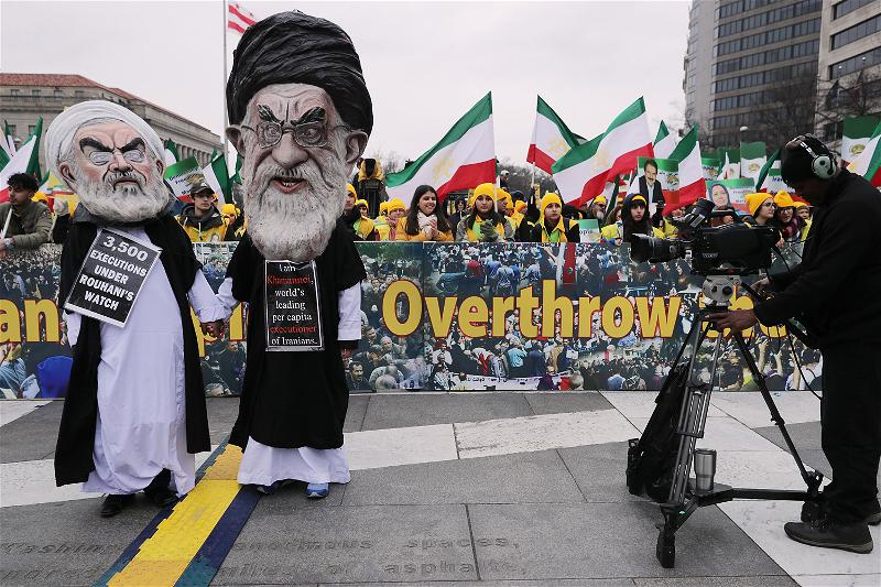 _AFP_Iran American protest overthrow