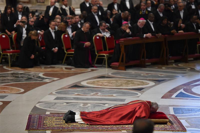 _AFP_Pope good Friday