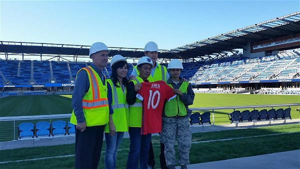 Earthquakes jersey presentation
