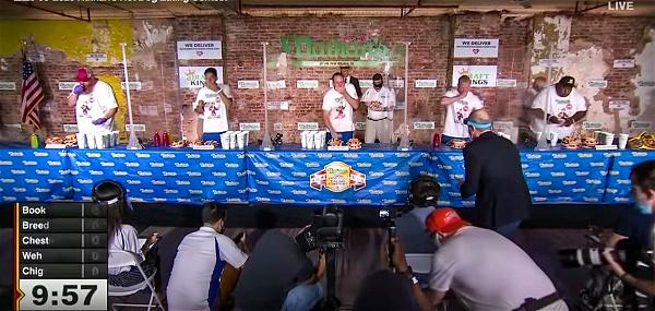 pic 3 Nathan Hot Dog contest 2020