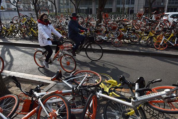 _AFP_shared bikes china