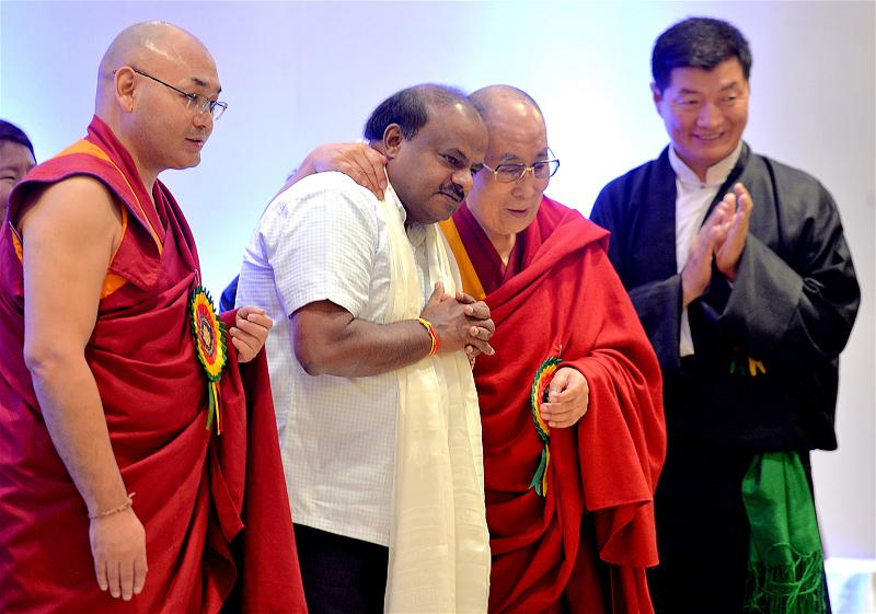 _AFP_Dalai Lama_india thank you Kamataka