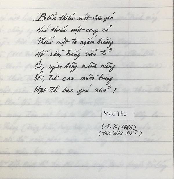 Tho - Mac Thu