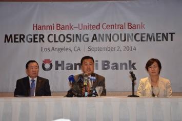 Ngân Hàng Hanmi Mua Công Ty Central Bancorp, Inc  - Cộng
