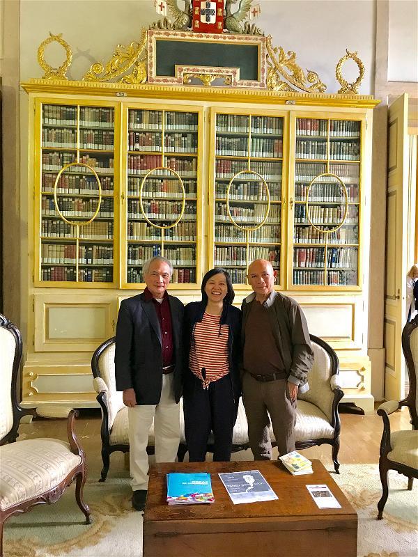 Hoang Hung_LTV, HH tại Thư viện