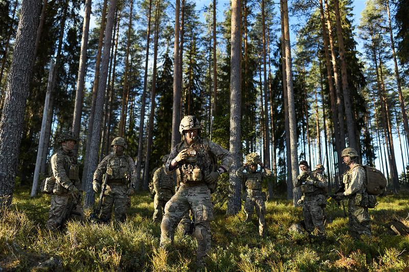 _AFP_soldier NATO war exercise