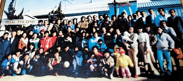 Hình ảnh 96 thuyền nhân được Thuyền trưởng Jeon cứu