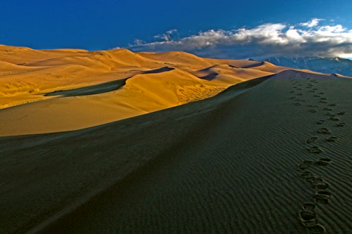 The Great Sand Dune National Park, Colorado