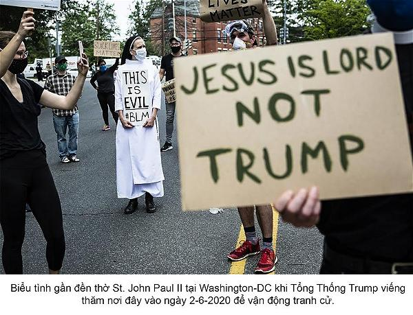jesus is lord not trump