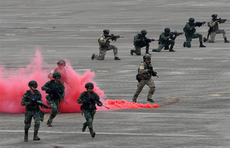 _AFP_military drill Taiwan