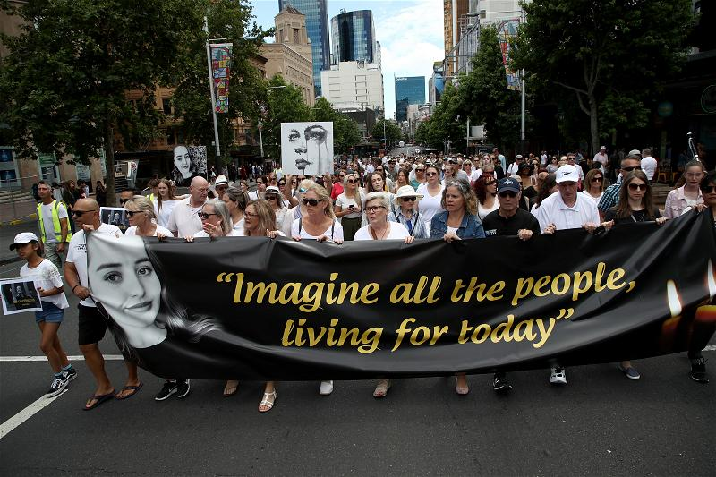_AFP_peace walk in New Zealand