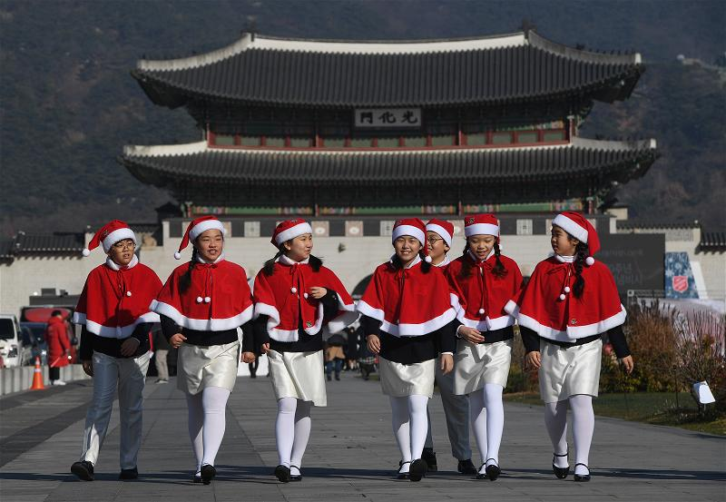 _AFP_south korea christmas charities