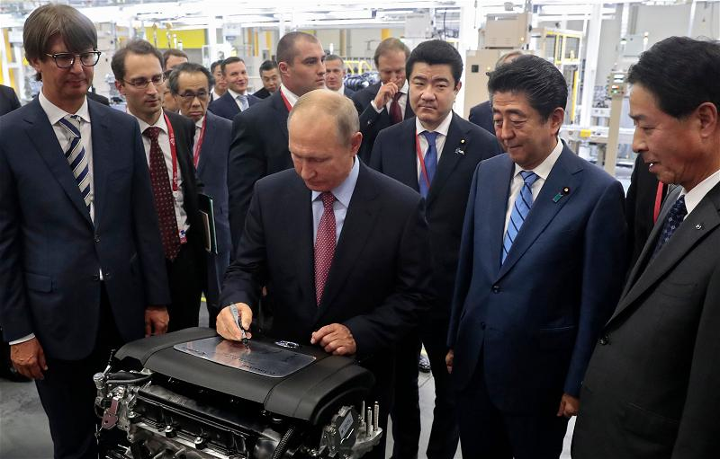 _AFP_Putin Abe_japan Russia sep 2018