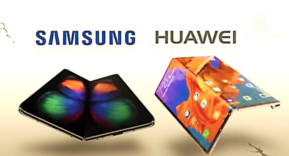Tập đoàn Huawei ăn cắp công nghệ màn hình gập của Samsung