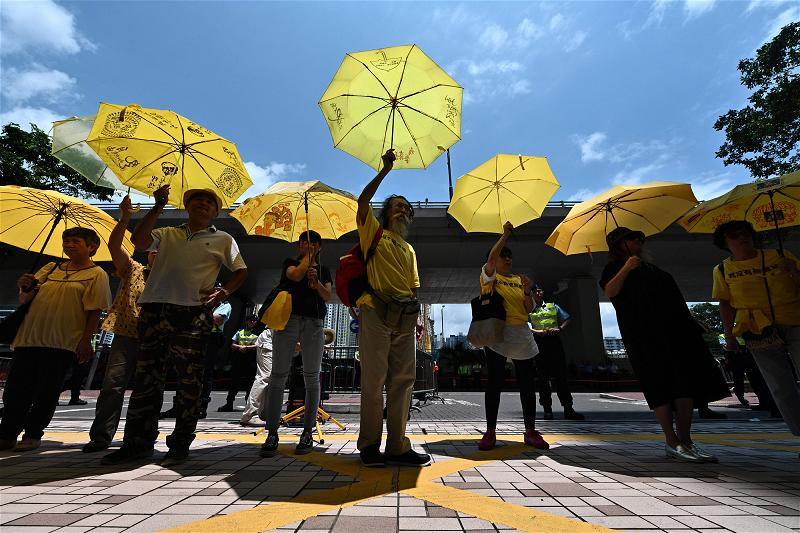 _AFP_yellow hong kong protest