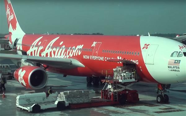 a_Air Asia airlines airplane Airbus
