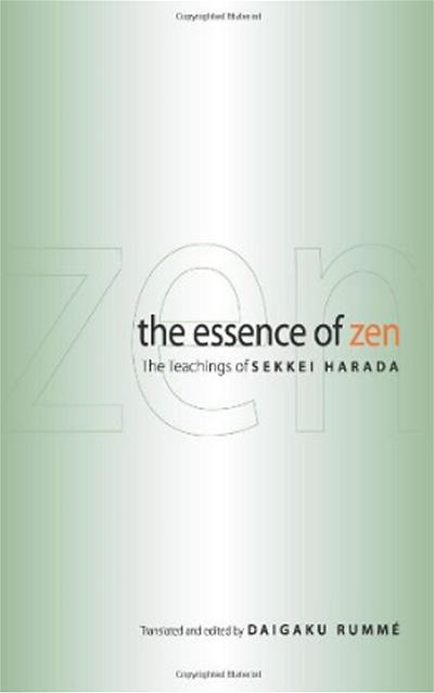 book The Essence of Zen_by Harada