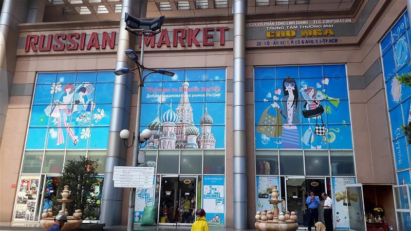 Chợ Nga Giữa Sài Gòn Nơi Du Khách Tìm Mua Sắm
