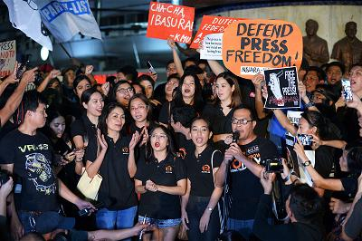 _AFP_Philippines media staff protest