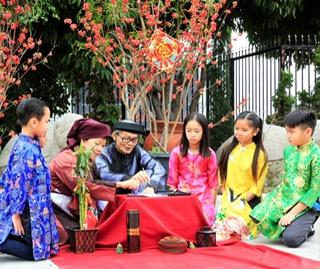 Pic 6 Các cháu và ông bà Đồ của Hoàng Ngọc Thịnh
