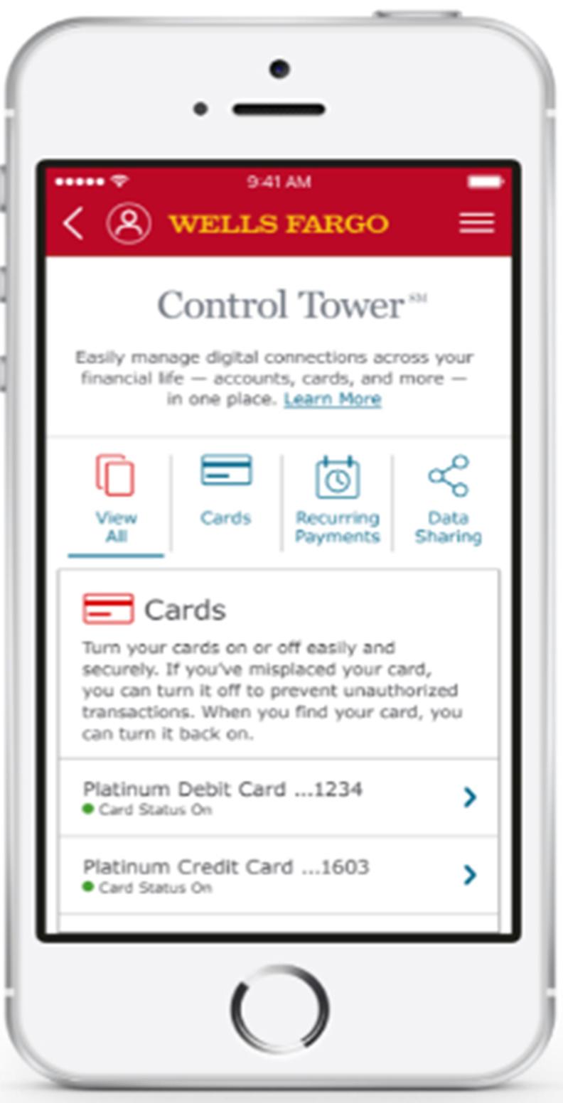 Wells Fargo Giới Thiệu Control Tower SM, Trải Nghiệm Kỹ Thuật Số Mới