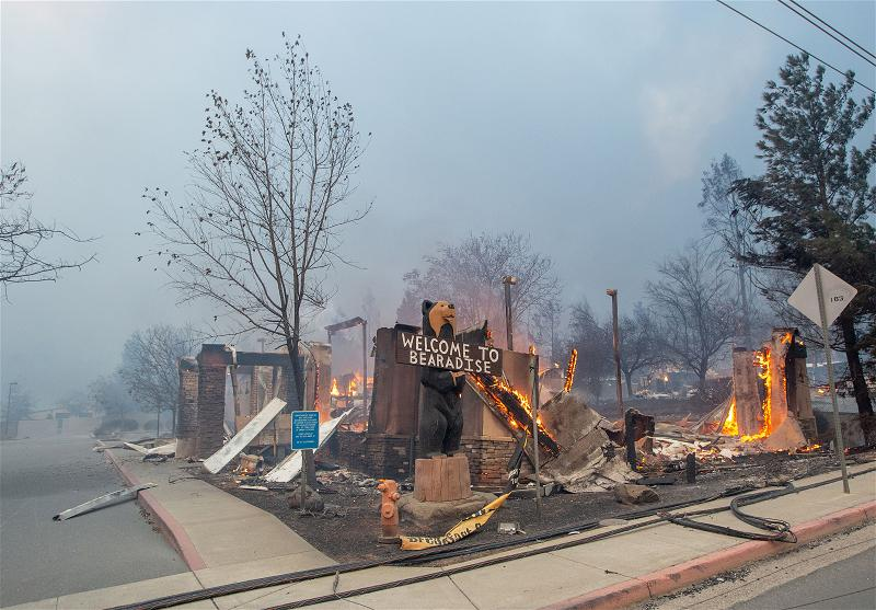 _AFP_fire Paradise california
