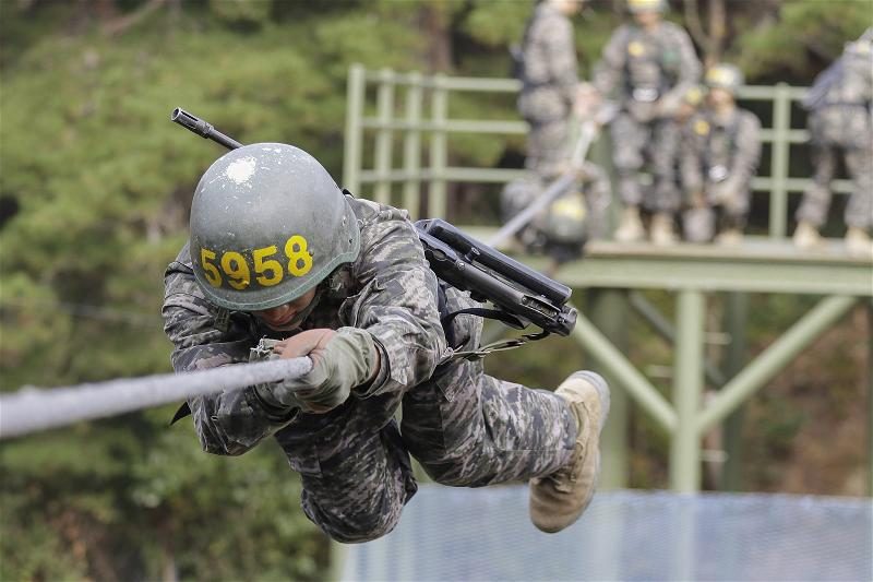 _AFP_South Korea marine trainiing