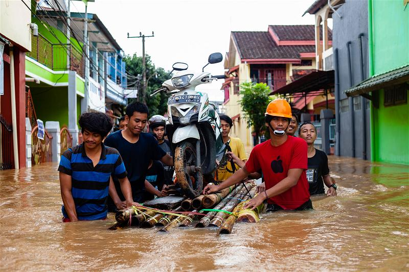 _AFP_flood Indonesia