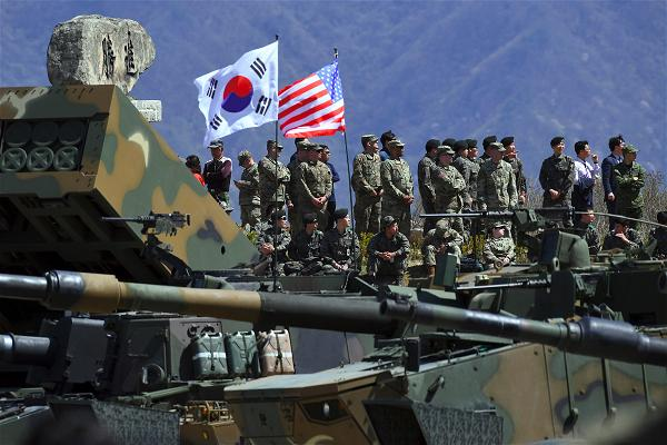 AFP_Korea USA military exercise
